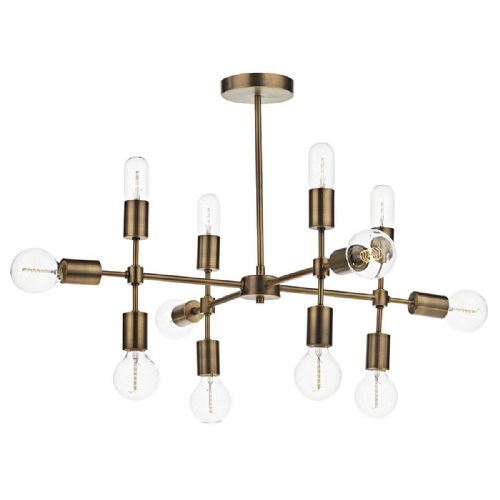 Code 12 Light Pendant Old Gold (Class 2 Double Insulated) BXCOD1235-17